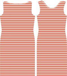 de droomfabriek: Gratis naaipatroon dames jurk met boothals