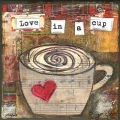 Love in a cup (of coffee).