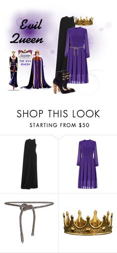 """""""Evil Queen"""" by wonderland-junkie ❤ liked on Polyvore featuring Disney, STELLA McCARTNEY, Acne Studios and Paul Andrew"""