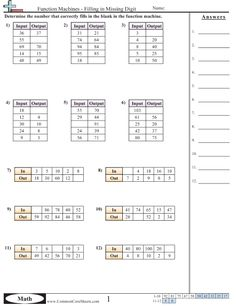 patterns function machine worksheets teacher stuff linear function pattern worksheet. Black Bedroom Furniture Sets. Home Design Ideas