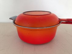 Vintage Descoware Dutch Oven Sauce Pan and Pot All In by KimBuilt, $59.00