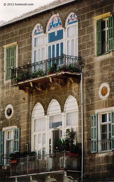 Arabesque Architecture in Beirut, Lebanon