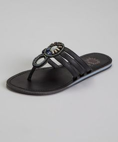 8c8d97f01 Take a look at this Black Ramsay Sandal by Yellow Box Shoes on  zulily today