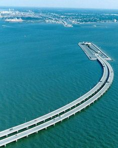 Unique Bridge Between Sweden and Denmark Goes Underwater