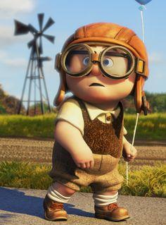 Young Carl Fredricksen Up costume Disney Up, Walt Disney, Disney Pixar, Disney And More, Disney Animation, Disney And Dreamworks, Disney Magic, Animation Movies, Up Pixar