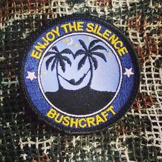 Schlafen in der Hängematte - Bushcraft Patch mit Klett    #patch #bushcraft #edc