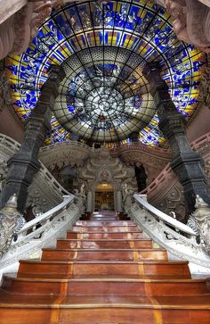 Erawan Museum, Thailand. Also my future stairway as soon as I win the lottery.