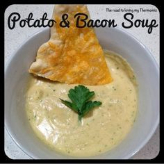 The road to loving my Thermomix: Potato and Bacon Soup Quick Chicken Curry, Creamy Garlic Chicken, Soup Recipes, Cooking Recipes, Chowder Recipes, Savoury Recipes, Recipies, Thermomix Soup, Potato Bacon Soup