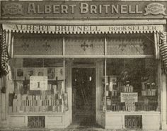 The same Albert Britnell's, 241 Yonge Street, Toronto Stationary & Office Products in 1911 Toronto City, Toronto Canada, Yonge Street, Book Shops, Canadian History, American Gods, West Village, Historical Pictures, Landscape Photos