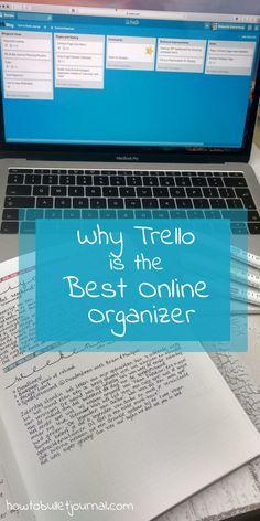 Why Trello is the Best Online Organizer
