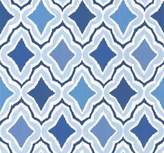 Cruising Blue wallpaper by Thibaut