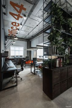Business Office Decorating Ideas is completely important for your home. Whether you choose the Decorating Big Walls Living Room or Office Interior Design Ideas Modern, you will make the best Modern Office Design Home for your own life. Industrial Interior Design, Industrial House, Industrial Interiors, Modern Industrial, Industrial Shelving, Industrial Lighting, Vintage Industrial, Industrial Furniture, Industrial Decorating