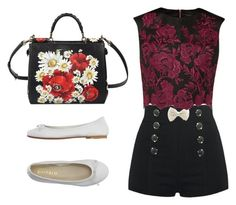 """""""#543"""" by paula164 ❤ liked on Polyvore featuring Ted Baker, Dolce&Gabbana, DIENNEG, women's clothing, women, female, woman, misses and juniors"""