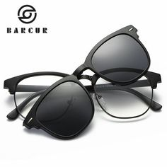 c1bed92030 2017 TR90 Sunglasses Clip Magnetic Sunglasses Frame With Clip Sun glasses  Include Frame Polarized Clip on