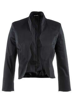 Add the finishing touch to your evening outfit, or compliment your office wear, with this elegant cropped blazer with wavy lapels and tiny cuff vents. Bolero Jacket, Cropped Blazer, Evening Outfits, Office Wear, The Selection, Jumper, Turtle Neck, Leather Jacket, Plus Size