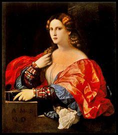 La Bella - Pintura de Jacobo Negretti (Palma el Viejo) - 1525