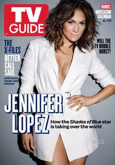 January 4/January 11, 2016. Jennifer Lopez of Shades of Blue