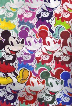 Warhol Mickey