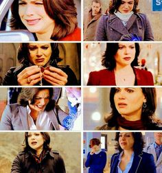 I hate seeing Regina miserable, she deserves some happiness