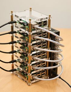 Raspberry Pi Dramble - Ansible deployments Visualized with a Raspberry Pi cluster