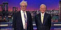 Harry Caray and David Letterman - https://www.youtube.com/watch?v=ye8UpxnPzPE