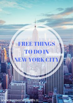 Doing New York on a budget? Check out these top Free things to do in New York City!