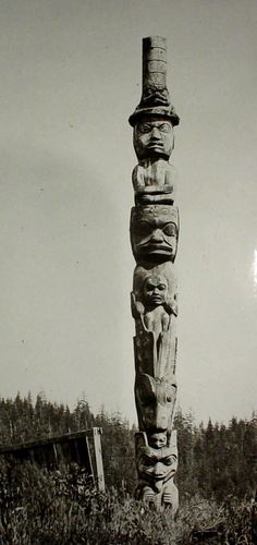 Chief Shakes, Wrangel, AK. A masters hands!