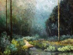 """Storm Glade"" by Amy Strom, 2012 (Aestrom Artwork)."
