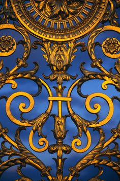 Detail of Gate at Jardin des Tuileries ~ Paris, France | Photography by Ron Watts