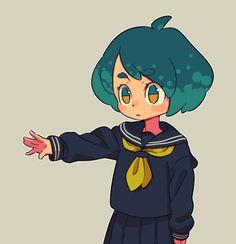 moni-o-inom Character Concept, Character Art, Concept Art, Cartoon Kunst, Cartoon Art, Illustrations, Illustration Art, Dibujos Cute, Wow Art