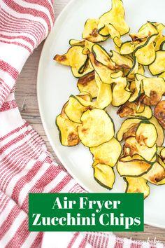 Air Fryer Zucchini Chips | Air Fryer Zucchini Recipe | Zucchini Chips | Zucchini Recipe | Air Fryer Side Dish | Air Fryer Chips #airfryer #zucchini