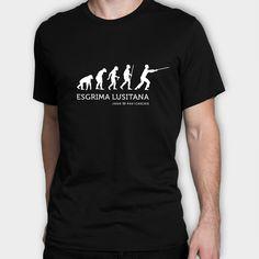 T-shirt preta com gr