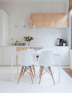 #cocina depurada de #Estilo #Escandinavo