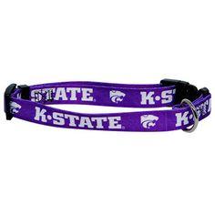 Kansas State Wildcats NCAA Licensed Dog Collar