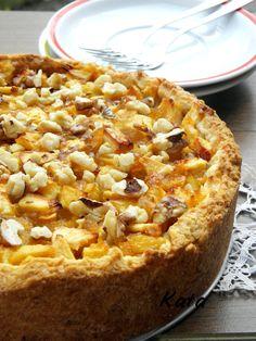 Diós almatorta Slovakian Food, Hungarian Recipes, Hungarian Food, Macaroni And Cheese, Deserts, Muffin, Cooking Recipes, Cookies, Ethnic Recipes