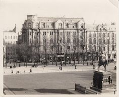 """Königsberg i. Pr. - """"Das Haus der Bücher"""" GRÄFE UND UNZER am Paradeplatz 6 vor 1930"""
