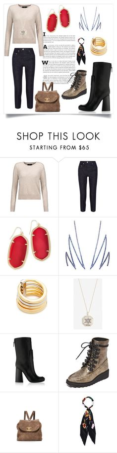 """""""Express your Love"""" by kristeen9 ❤ liked on Polyvore featuring Line, Acne Studios, Kendra Scott, Khai Khai, Vita Fede, Shashi, Victoria Beckham, Free People and Rockins"""