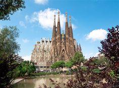 Sagrada Familia - Barcelona, Katalonien (Spanien