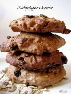 Mézes finomságok...: Zabpelyhes keksz
