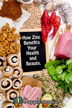 Every English alphabet can be started with a word of health benefit offered by zinc. This shows the importance of this essential mineral for our healthy life. See all the zinc benefits for skin here Zinc Supplement Benefits, Best Zinc Supplement, Proper Diet, Proper Nutrition, Zinc Benefits Skin, Zinc For Skin, Zinc Capsules, Zinc Rich Foods