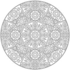 Creative Haven Snowflake Mandalas Coloring Book Mandala Мандала coloring page for adults Kleuren voor volwassenen Färbung für Erwachsene coloriage pour adultes colorare per adulti para colorear para adultos раскраски для взрослых omalovánky pro dospělé colorir para adultos färgsätta för vuxna farve for voksne väritys aikuiset difficult schwierig difficile difficile difícil трудно  těžké  difícil vårt detailed detaillierte détaillée dettagliate detallados подробную detailní detalhada…