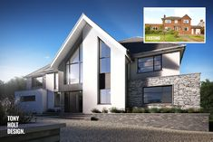 Tony Holt Design : Self build remodel of existing house in Hertfordshire