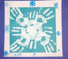 Splish Splash Splatter: Handprint Snowflakes (2nd edition)