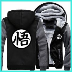 fashion autumn winter 2017 men jacket Dragon Ball Z Baseball Son Goku Costumes Anime drake black Halloween Hoody Goku Sweatshirt