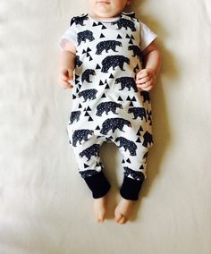 Harem style baby romper, hipster baby romper, organic baby clothes, baby overall, organic baby boy romper by vagabondzone on Etsy https://www.etsy.com/listing/267371171/harem-style-baby-romper-hipster-baby