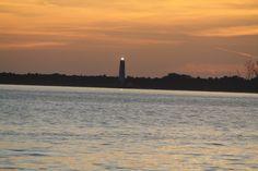 Sunset at Fort De Soto, Florida