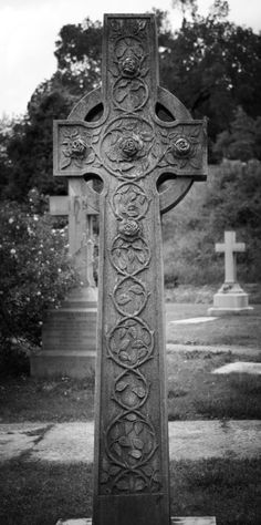 Rose Celt Cross, - Hollywood Cemetery, Richmond, Virginia.
