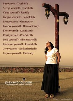 """Be Good To Yourself - Don't compromise yourself - you're all you have."""" Discover more quotes motivational and pictures about Love on Pravs World"""