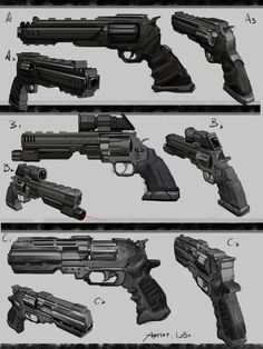 Weapons inspiration.