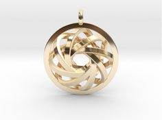 ATOM CORE Designer Jewelry Pendant